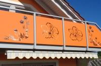 sichtschutz-balkon-orange