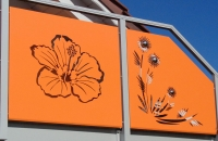sichtschutz-balkon-orange-detail